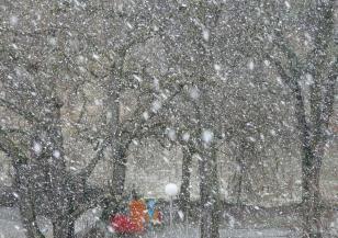 Техеран под снежна пелена