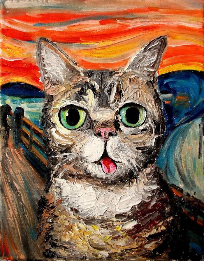 Образователен блог за изкуства също я сподели и тогава тя съвсем набра популярност. Стигна се дотам, че само на няколко километра от дома ми имаше вечер на рисуването на моята картина. Когато се присъединих, за да информирам участниците, че това е моят труд, организаторът на събитието не ми повярва, убеден, че това е труд на Ван Гог...