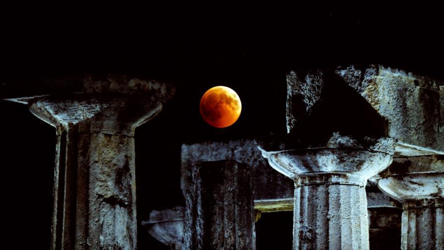<p>Небето ще се проясни за<strong> първото лунно затъмнение</strong> за 2019</p>