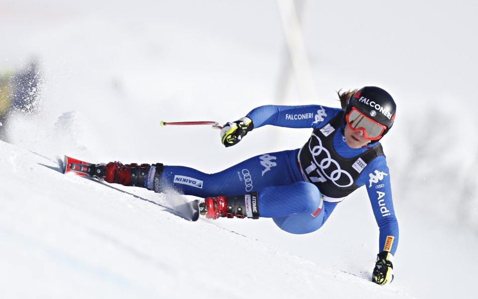 Олимпийска шампионка счупи ръката си, сезонът ѝ в ските приключи