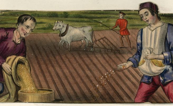 Какво са слагали на масата през Средновековието
