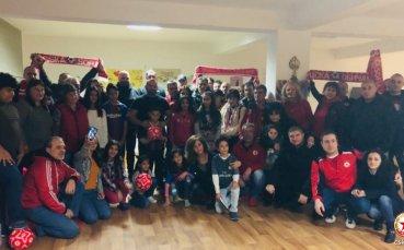 Магията на ЦСКА завладя детските сърца в Търново