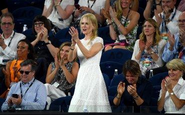 Никол Кидман в целия си блясък на Australian Open