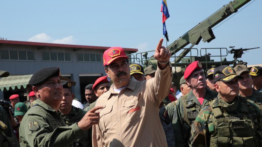<p>САЩ с предупреждение към&nbsp;<strong>Венецуела&nbsp;</strong></p>
