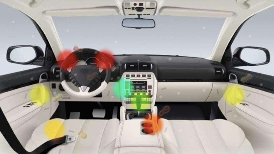 Това са най-мръсните маста в автомобила.