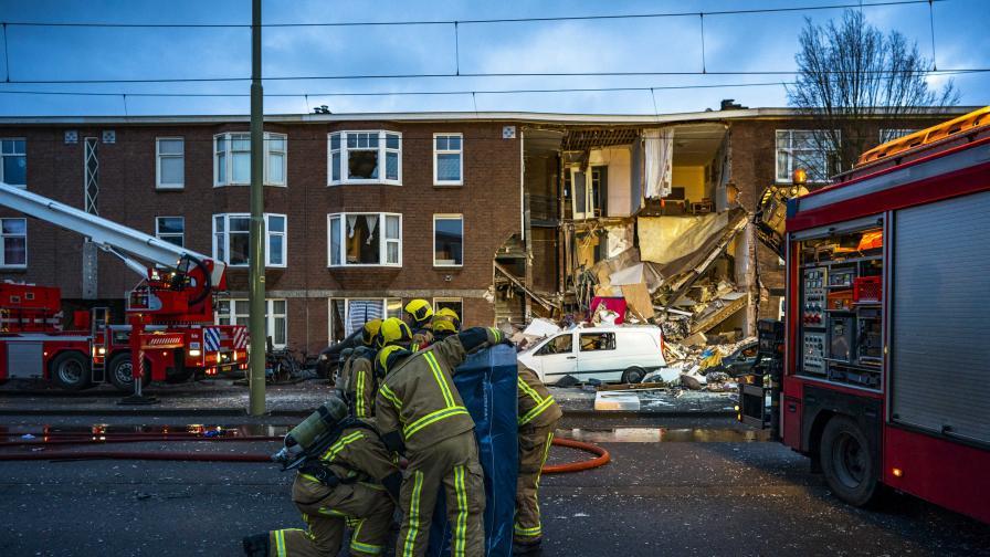 Най-малко 9 ранени след експлозия в Хага