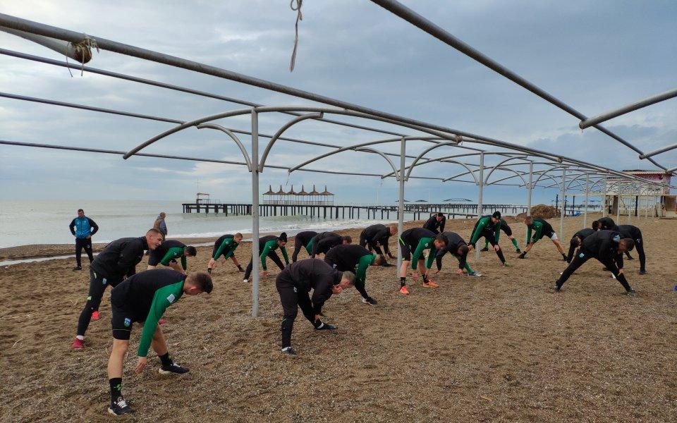 Тренировки на плажа и фитнес за