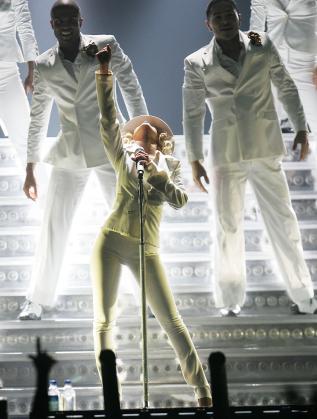 Кристина на последното си турне преди 10 години