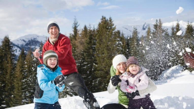 зимен спорт деца сняг