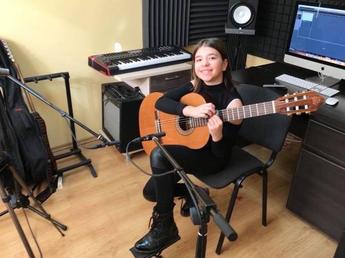 Александра Иванова китара Ню Йорк