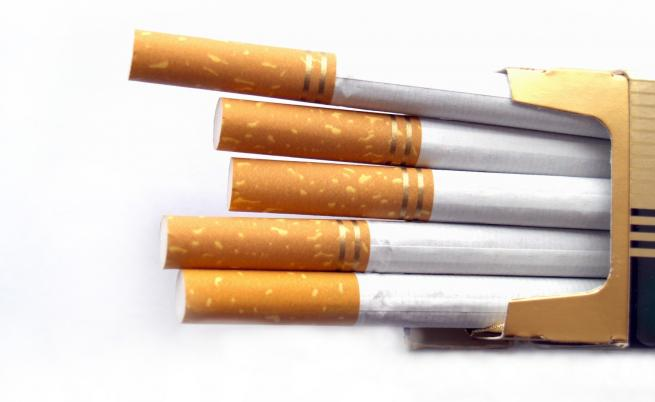 Борисов край Пловдив, разбиха огромна фабрика за нелегални цигари