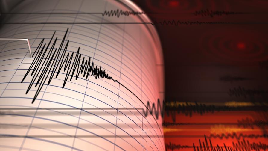 Земетресение снощи в района на Вранча