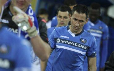Левски тренира без Живко Миланов преди Зенит