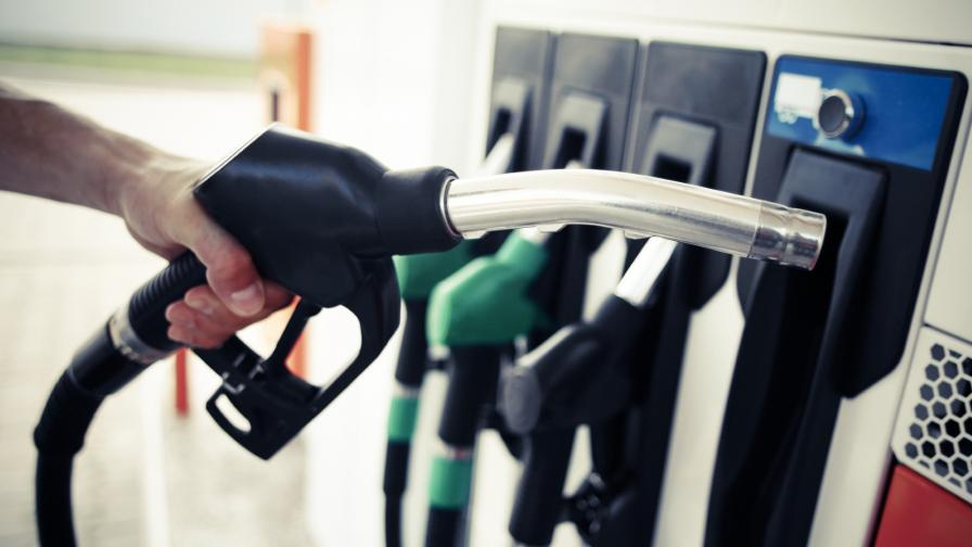 <p>Протест срещу цените на горивата в центъра на София</p>
