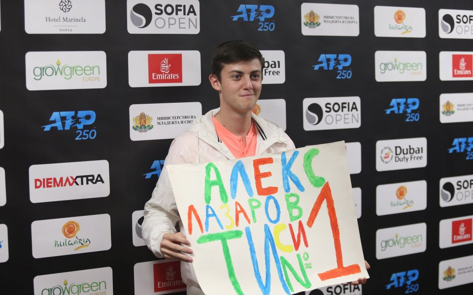 Лазаров преодоля втория кръг на международния турнир в Бургас