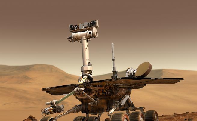 НАСА обяви края на марсохода Opportunity