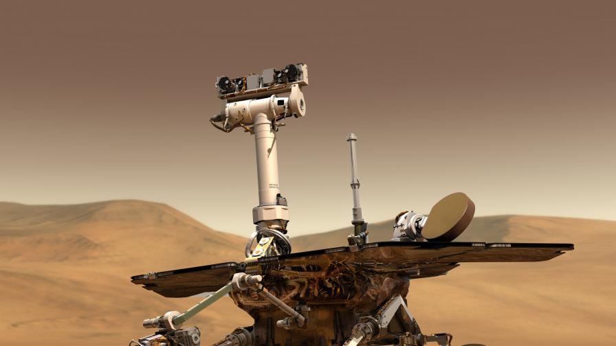 Илюстрация на марсохода Opportunity