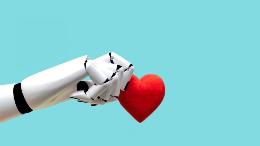 робот сърце