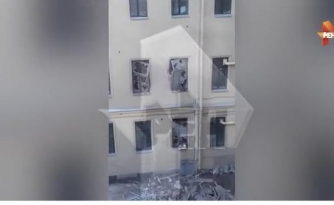 Падна част от университет в Санкт Петербург, евакуирани са 81 души