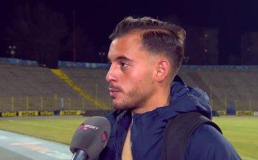 Давиде Мариани: Добър мач за Левски, но резултатът е лош
