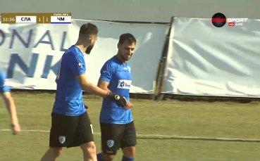 Панов с дебютен гол за Черно море, изравни на Славия