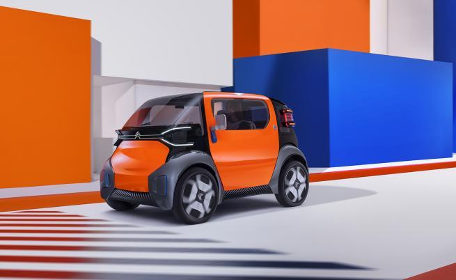 Електрическият Citroen Ami One като алтернатива на градския транспорт