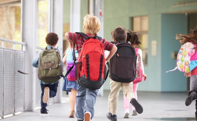 Без тежки раници в училище, възможно е