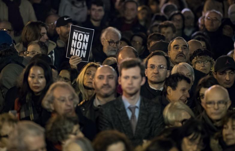 антисемитизъм Франция Париж