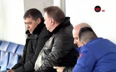 Националният селекционер гледа Витоша – Левски