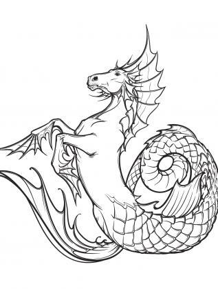 Митичното създание Хипокамп