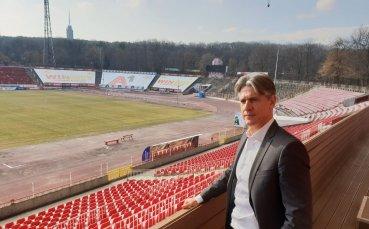 Новият важен човек в ЦСКА: Благодаря на Ганчеви за този голям шанс, ще постигнем много