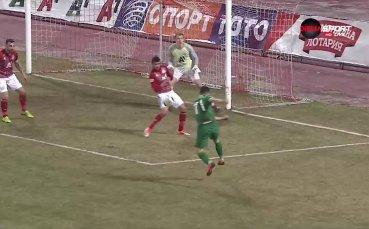 Голът на Емил Стоев срещу ЦСКА