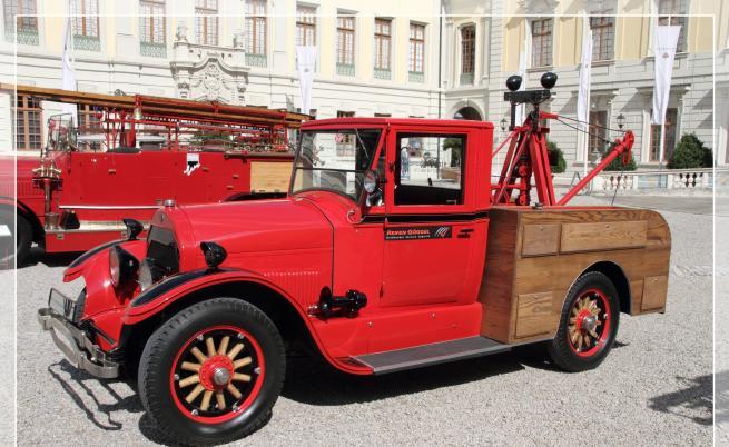 Cadillac Type 53 модифициран като пожарна