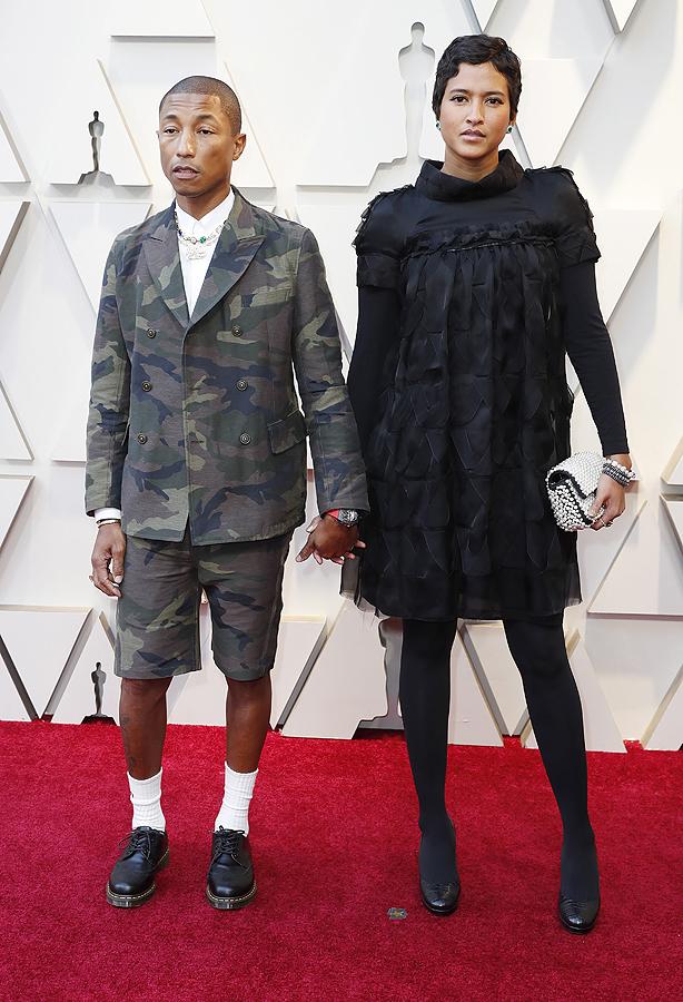 Pharrell Williams и Helen Lasichanh