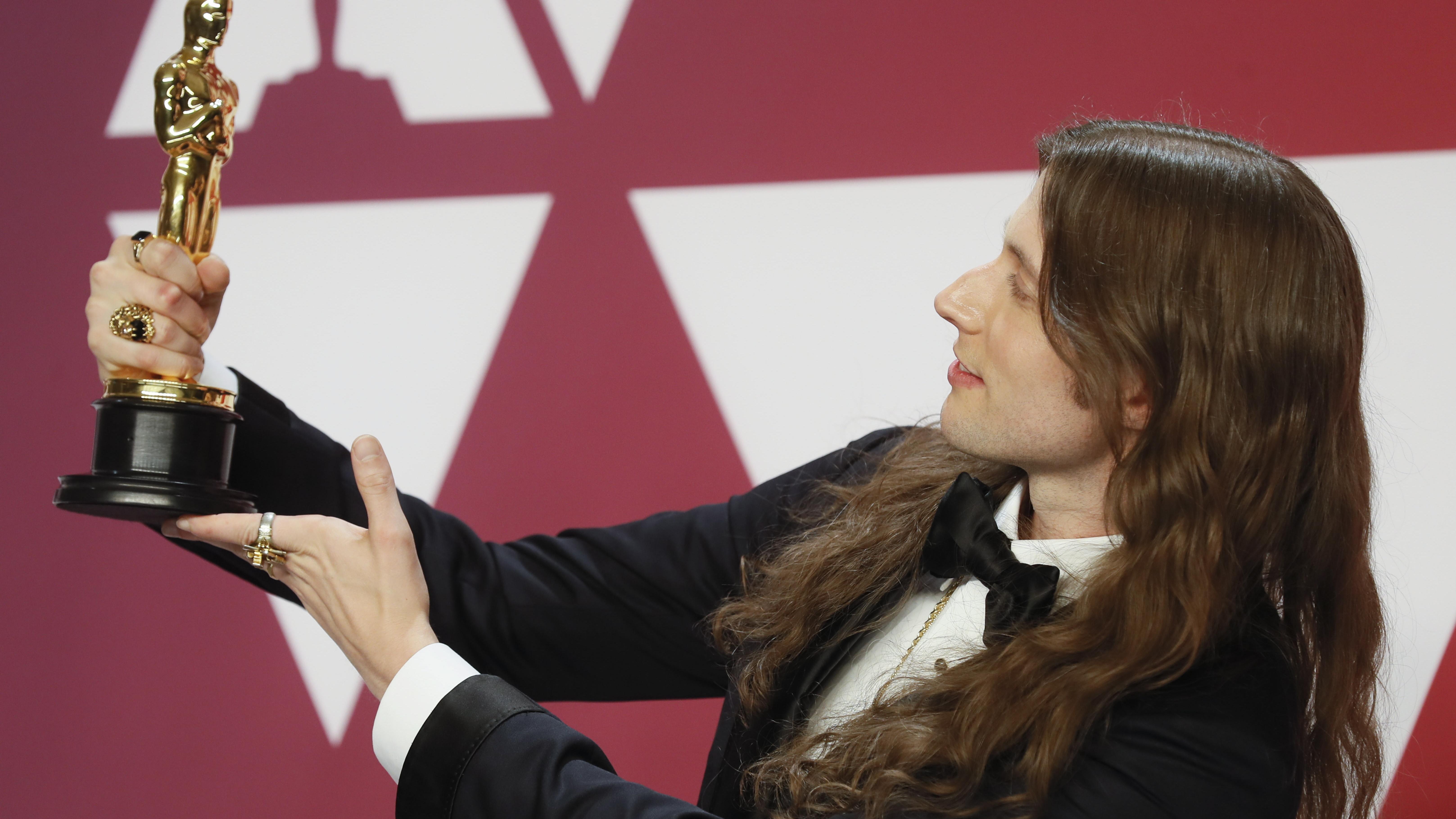 """В категорията за най-добра филмова музика """"Оскар"""" взе Лудвиг Горансон за """"Черната пантера""""."""