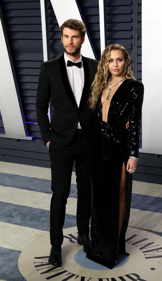 Liam Hemsworth и Miley Cyrus