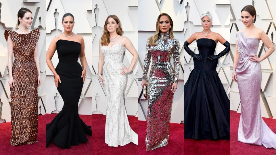 <p>Голямата нощ на Оскарите мина вчера, а след нея, освен наградите, остава и споменът за вълнуващите тоалети, на които се насладихме на червения килим. Вижте кои са най-прекрасните тоалети на звезди в следващите снимки...</p>