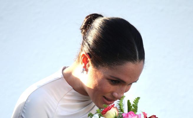 Меган Маркъл в Мароко