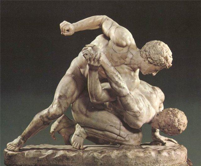 """Аматьорският панкратион се завръща в общността на бойните изкуства чак през 1969 г. Популяризира го американският майстор от гръцки произход Джими Арванитис и постепенно се намества в спортните среди след представянето му на корицата на списание """"Black Belt"""" през 1973 г. Този опит за популяризиране на спорта се смята и за една от първите стъпки за създаване на съвременните ММА."""