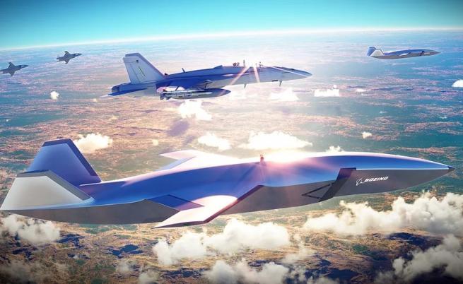 Boeing представи дрон, който охранява изтребители