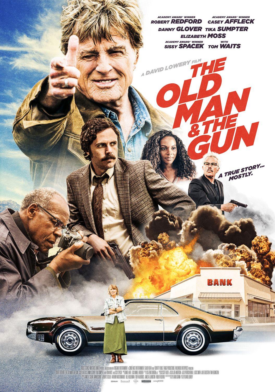 """The Old Man & The Gun / """"Старецът и оръжието"""" (2018) – Режисьор: Дейвид Лоуъри; Участват: Робърт Редфорд, Сиси Спейсек, Кейси Афлек"""