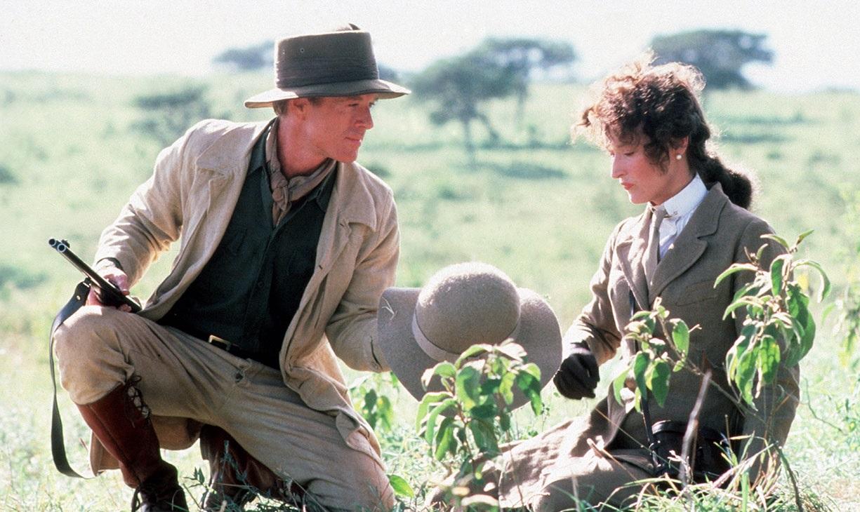 """Out Of Africa / """"Отвъд Африка"""" (1985) – Режисьор: Сидни Полак; Участват: Робърт Редфорд, Мерил Стрийп, Клаус Мария Брандауер"""