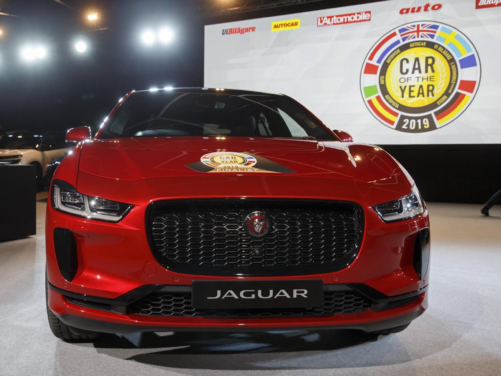 Кола на годината Jaguar I-Pace