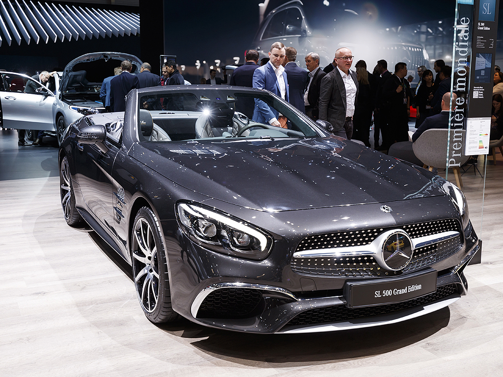 Mercedes-Benz SL 500 Grand Edition