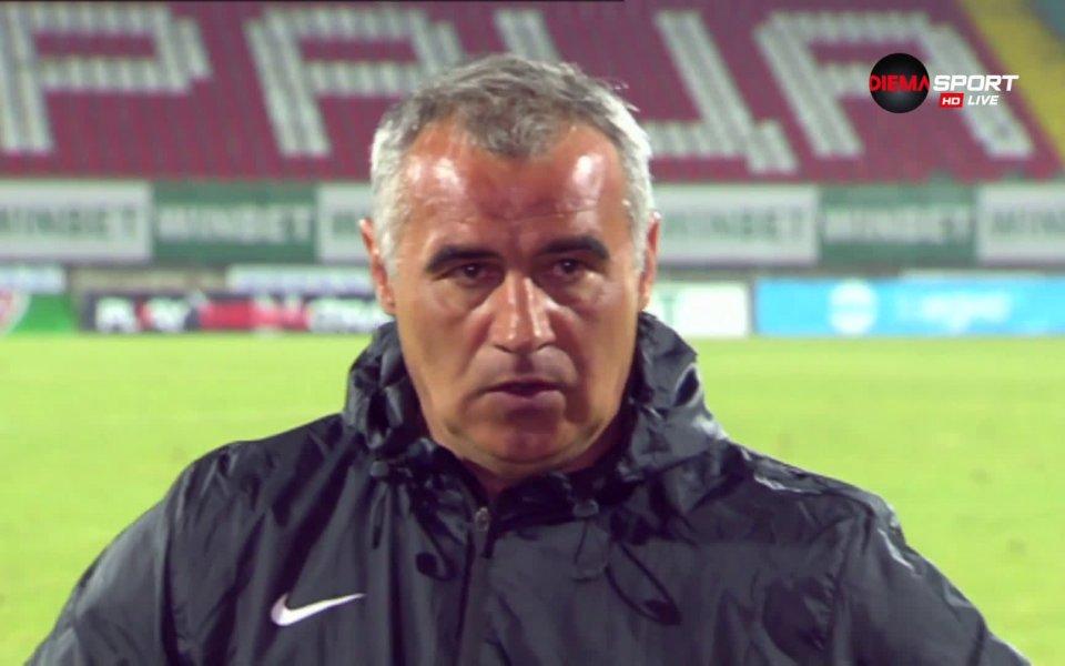 Ръководството на Ботев Враца застана зад Сашо Ангелов