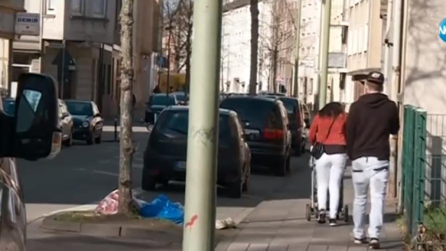 Как цели ромски махали се преселват в Германия