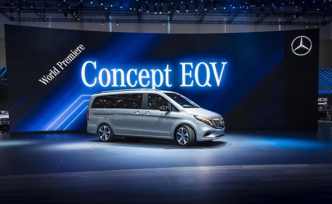Mercedes: Бъдещето е електрическо, но не сме забравили ДВГ