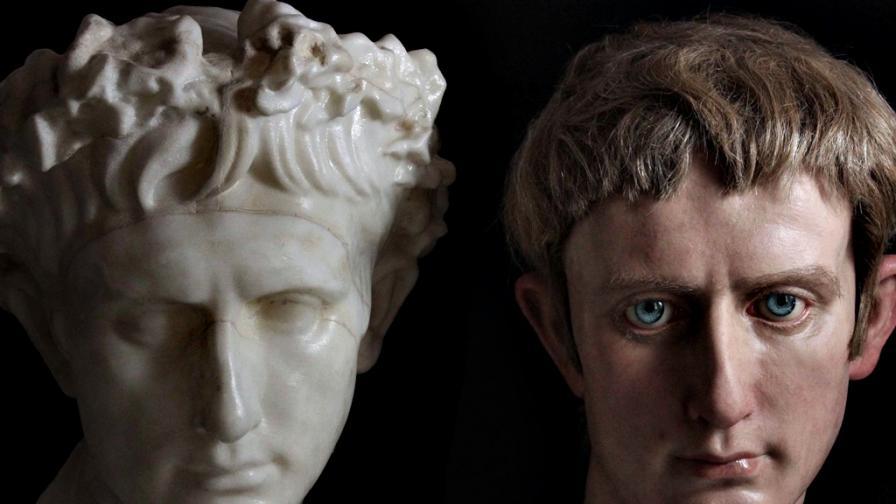 Римски императори оживяват в ръцете на испански скулптор