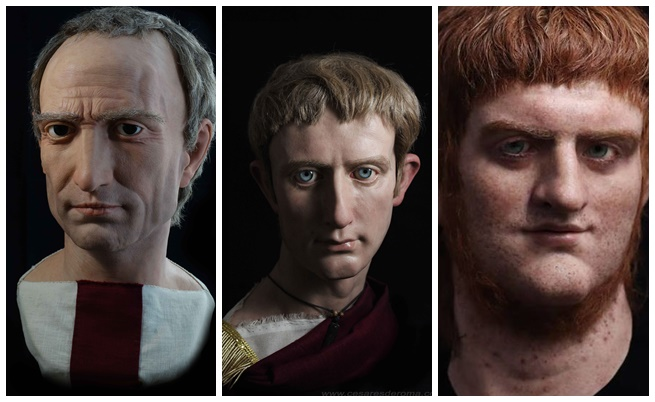 Гай Юлий Цезар, Октавиан Август и Нерон