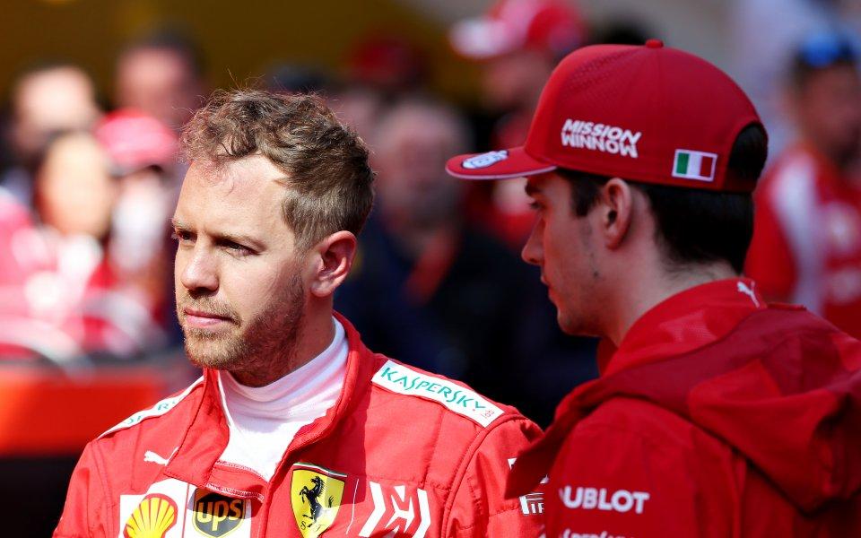 Култард: Фетел и Льоклер са едно опасно дуо на Ферари